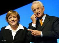 German chancellor with foreign minister to visit U.S.