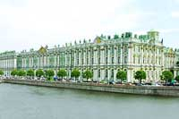 Husband of late curator convicted in Russia's State Hermitage Museum theft