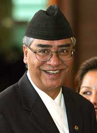 Nepal's new prime minister announces Cabinet