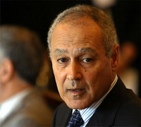 Ahmed Aboul Gheit wants Israelis and Palestinians to halt violence