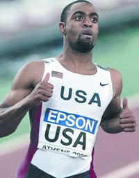 U.S. sprinter Tyson Gay seeks to get in front for good with 100 gold medal