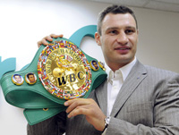 Vitali Klitschko Says He Is Well Prepared to Fight Albert Sosnowski of Poland