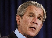 George W. Bush to veto stem cell issue