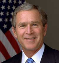 For wary conservatives, all eyes on Bush