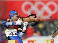 Russian biathlete kicked out of Olympics for doping