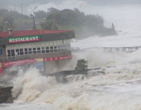 Typhoon Mitag slams into northeastern Philippines after killing 8