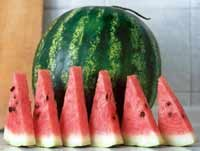 Juicy watermelon can be as miraculous as Viagra