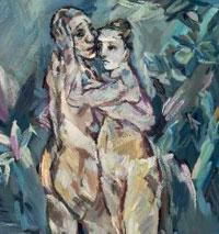 Museum of Fine Arts seeks to get Kokoschka's 'Two Nudes'
