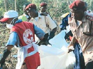 Nigerian plane crash kills 103