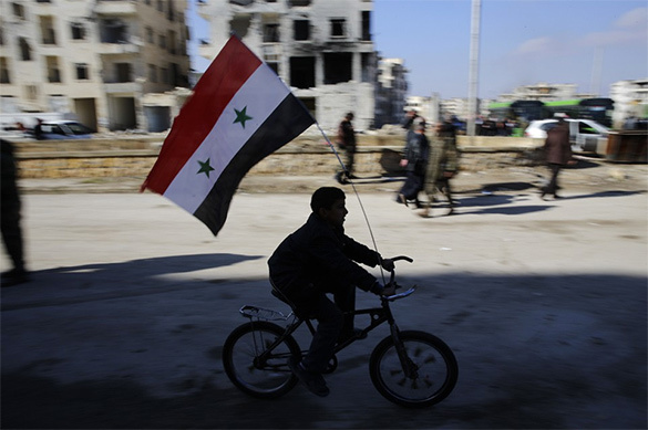 Russia, Iran and Turkey to divide Syria into areas of influence. Syria