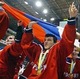 Olympic hockey: Russia shuts out Sweden 5-0