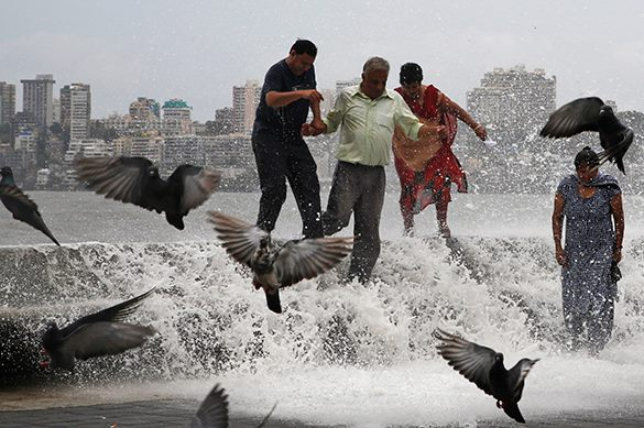 Catastrophe in Mumbai: abnormal rains paralyze city. Mumbai