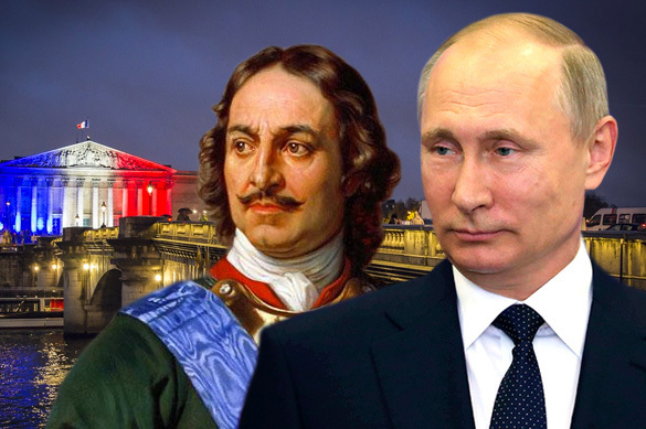 France compares Putin to Peter the Great. 60535.jpeg