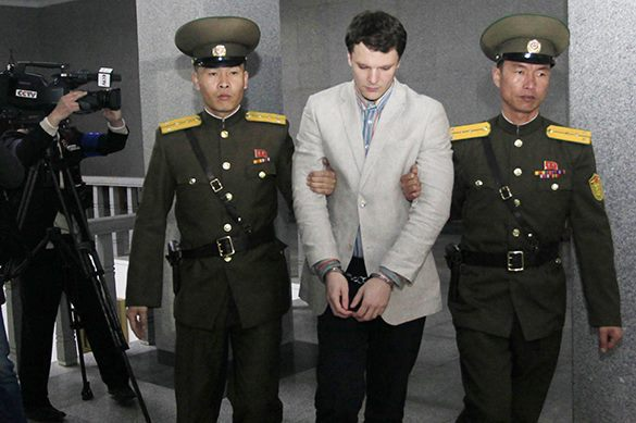 Student Otto Warmbier gets 15 years of hard labor in N. Korea