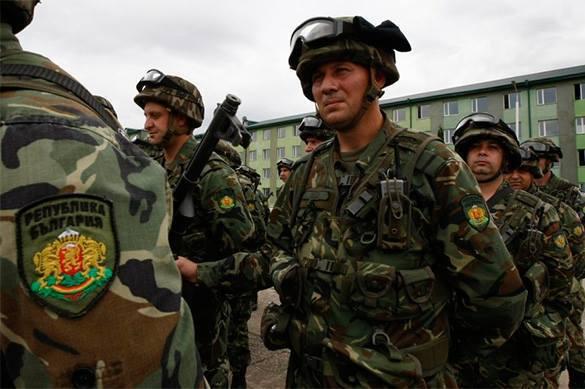 NATO annihilates Bulgarian army. Bulgaria