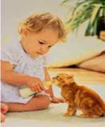 Early cat exposure can increase risk of eczema in children