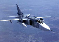 Su-24s, which came into service in the early 1970s, are not one