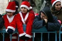 Foreigners are few in Bethlehem for Christmas