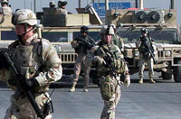 Two US servicemen charged with murder of Iraqi civilian
