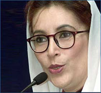 Perpetrator of bomb attack against Benazir Bhutto almost found