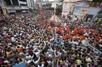 At least six Hindu worshippers killed in stampede in India