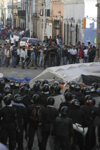 Tension grows in embattled Mexican city