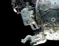 Space station astronauts start 3rd spacewalk in 9 days