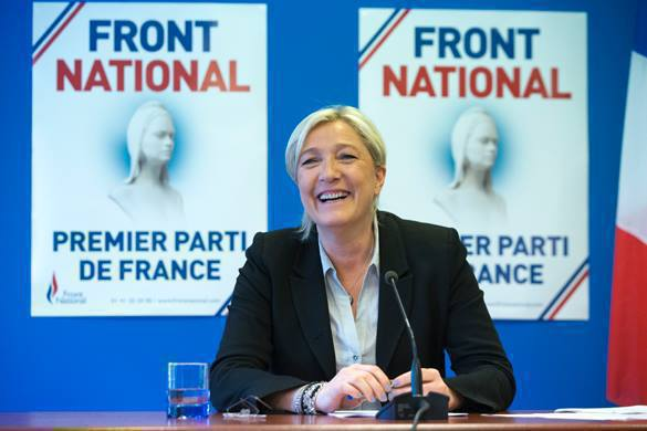 Marine Le Pen: NATO wants war in Europe by brining NATO to Russia. 54541.jpeg