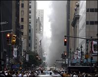 Pipe blast kills one prompting 9/11 panic in New York