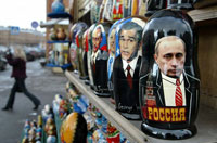 Internet Auction eBay Mirrors Immense Interest in Putin's Persona in the West