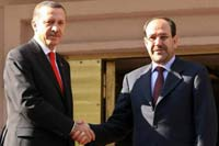 High-level Iraqi delegation met with Turkish officials