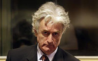 Radovan Karadzic Ends Boycott on His Genocide and War Crimes Trial