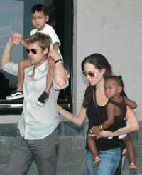 Angelina Jolie happy to have Vietnamese boy in her family