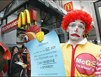 McDonald's Corporation Lacks Visitors