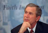 Planners of Bush event sued by activists