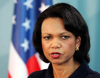 USA sends Condoleezza Rice to Asia to sound out another possible nuke test