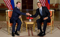 Obama and Medvedev reach agreements in Moscow
