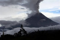 Big Volcanic Eruptions in Guatemala and Ecuador
