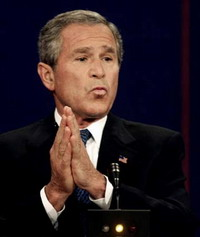George W. Bush not to retain power after his presidential term ends