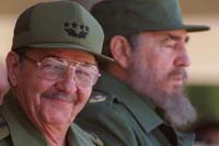 Raul Castro says his brother Fidel getting better