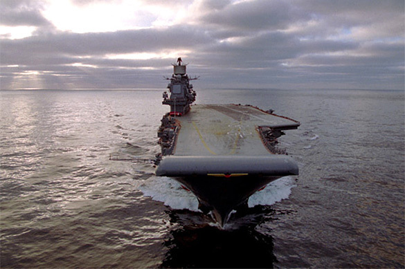 Russian aircraft carrier Admiral Kuznetsov leaves Syria conflict zone. 59555.jpeg