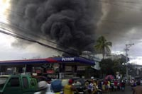 Department store fire kills 24 shoppers in Philippines