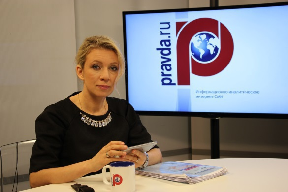 Russian Foreign Ministry names prime enemies in media warfare. Maria Zakharova