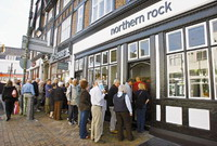 Northern Rock improves situation with shares