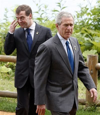 Russia reaches no progress in talks with US during G8 summit