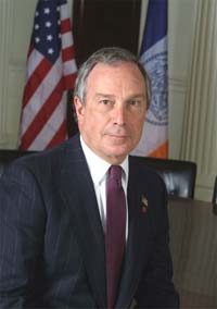New York Mayor Michael Bloomberg says he can run on US presidential ticket with Arnold Schwarzenegger