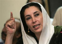 Bhutto's supporters prepare ancestral home for her arrival