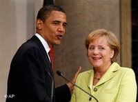 Angela Merkel Addresses U.S. Congress and Meets Obama in White House