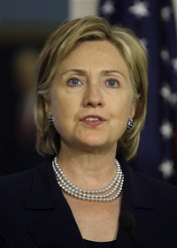 Hillary Clinton Condemns Israeli Settlement Activity
