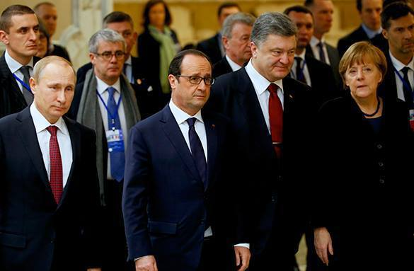 Minsk talks do not demonstrate great progress in terms of border control. World leaders at Norman Quartet meeting in Minsk